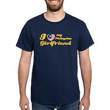 I love my Malaysian Girlfriend T-Shirt