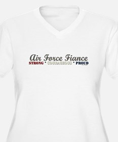Air Force Fiance:Strong Coura T-Shirt