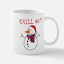 chill out snowman Mugs