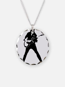 guitarist musician Necklace