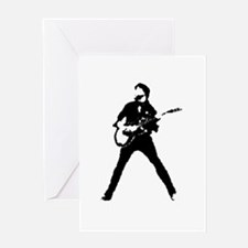 guitarist musician Greeting Cards