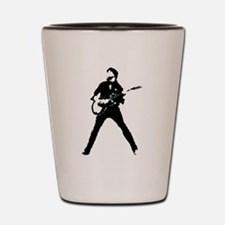 guitarist musician Shot Glass
