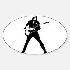 guitarist musician Decal