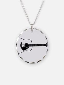 Acoustic Guitar t-shirt Necklace