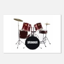 drum kit Postcards (Package of 8)