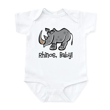 Rhinos, Baby! Infant Bodysuit