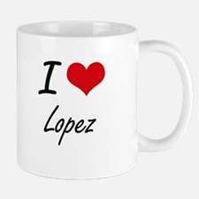 I Love Lopez artistic design Mugs