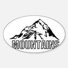mountain rocky climbing Decal