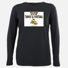 Funny Funny football Plus Size Long Sleeve Tee