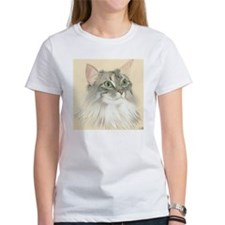 Norwegian Forest Cat Painting Tee