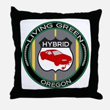 Living Green Hybrid Oregon Throw Pillow