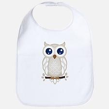 White Owl Bib
