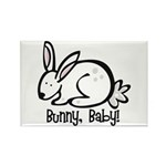 Bunny, Baby! Rectangle Magnet (10 pack)