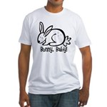 Bunny, Baby! Fitted T-Shirt