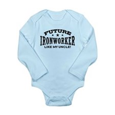 Cool Iron worker Long Sleeve Infant Bodysuit