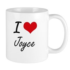 I Love Joyce artistic design Mugs