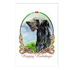 Scottish Deerhound Happy Postcards (Package of 8)
