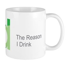 TRID The Reason I Drink Mug