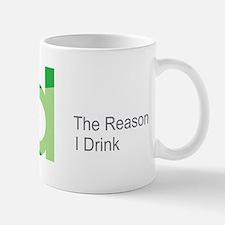 TRID The Reason I Drink Mug