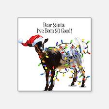 Christmas Goat I've Been So Good Sticker