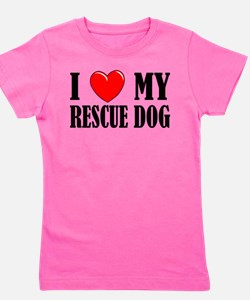 Rescue a pet Girl's Tee