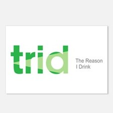 TRID The Reason I Drink Postcards (Package of 8)