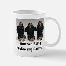 America Being Politically Correct Mugs