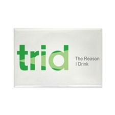 TRID The Reason I Drink Rectangle Magnet (10 pack)