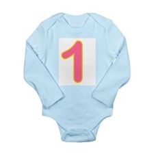 Unique Birthday boy Long Sleeve Infant Bodysuit