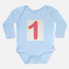 Candles Long Sleeve Infant Bodysuit