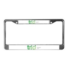 TRID The Reason I Drink License Plate Frame