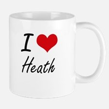 I Love Heath artistic design Mugs