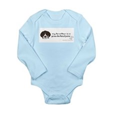 Funny Mom birthday Long Sleeve Infant Bodysuit