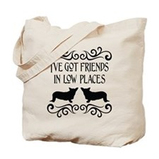 Friends In Low Places Cardigan Tote Bag