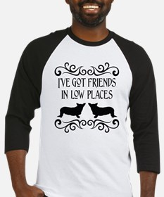 Friends In Low Places Cardigan Baseball Jersey