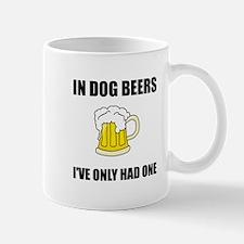 Dog Beers Mugs