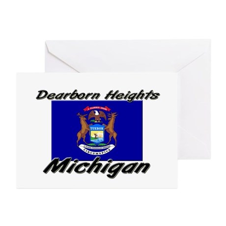 Dearborn Heights Michigan Greeting Cards (Pk of 10