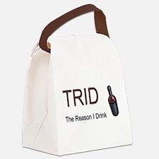 TRID Bottle Canvas Lunch Bag