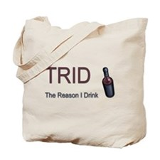 TRID Bottle Tote Bag