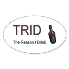 TRID Bottle Oval Decal