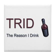 TRID Bottle Tile Coaster