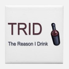 TRID Bottle Tile Coaster