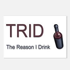 TRID Bottle Postcards 8 Pack
