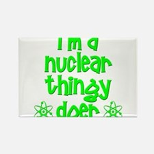 Cute Nuclear Rectangle Magnet