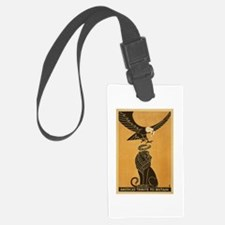 America's Tribute To Britain WWI Luggage Tag