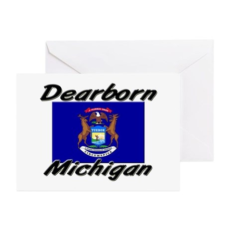 Dearborn Michigan Greeting Cards (Pk of 10)