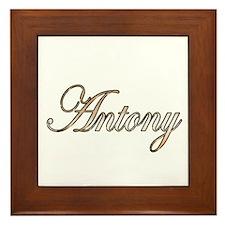 Cute Antony Framed Tile