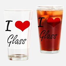 Cute Reunion glass Drinking Glass
