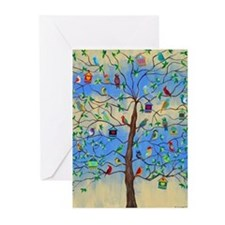 Cute Tree of life Greeting Cards (Pk of 20)