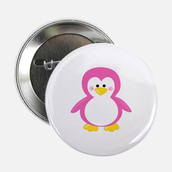 """Unique Baby penguin 2.25"""" Button"""